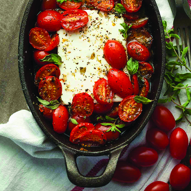 Baked Tomato and Feta Recipe