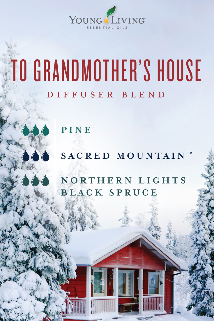 To Grandmother's House diffuser blend