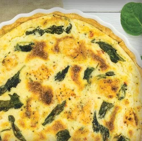 Spinach Quiche  Recipe