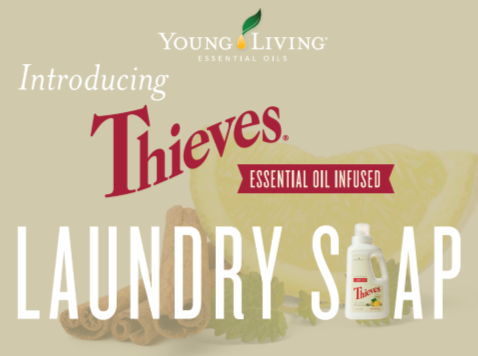 Thieves Essential Oil Infused Laundry Soap