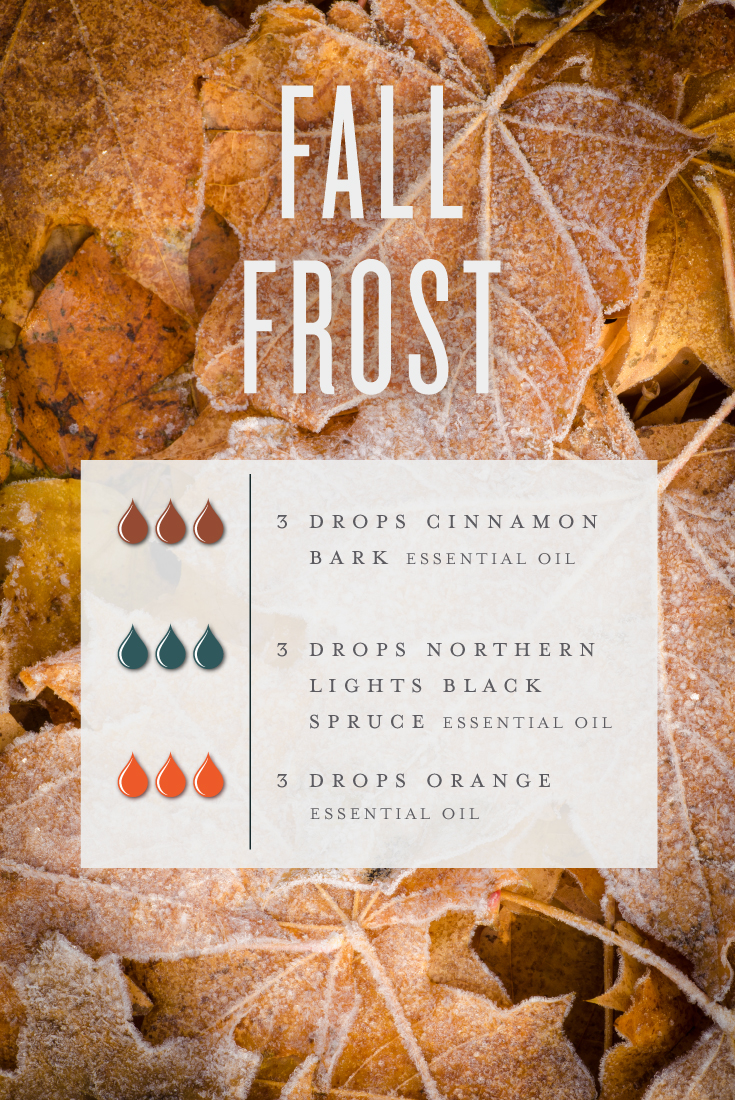 Fall Frost diffuser blend