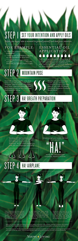 Young Living Aroma Yoga Infographic