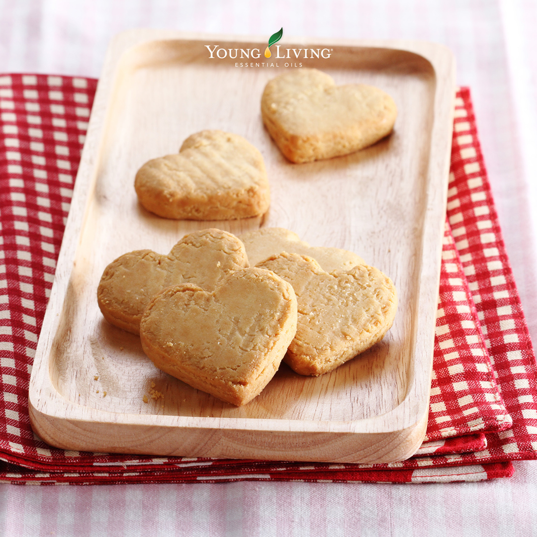 Oil-Infused All-Heart Cookies