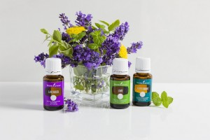 Young Living - Peppermint, Lavender, Lime Essential Oils